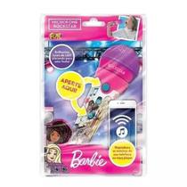 Microfone Rockstar Barbie C/ MP3 Player F00200 - Fun -