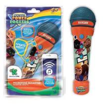Microfone Rockstar Power Rockers C/ MP3 Player F00557 - Fun -