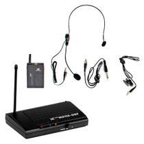 Microfone s/ Fio Headset / Lapela / UHF - MS 115 CLI TSI -