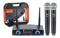Microfone S/ Fio Karsect Krd 200Dm M/M -