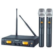 microfone sem fio Duplo De Mão Staner 48D/HT 48 Digital -