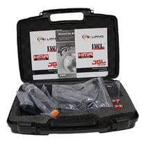 Microfone Sem Fio Duplo Mão Headset Jwl Profissional +maleta -