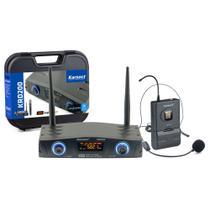 Microfone sem Fio Headset Cabeça KRD200SH Karsect -