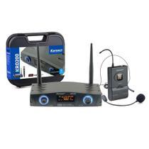 Microfone Sem Fio Karsect KRD200 SH Headset -