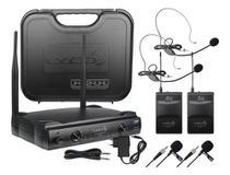 Microfone Sem Fio Lyco Duplo 2 Headset 2 Lapela Uh02hlihli -