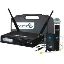 Microfone Sem Fio Lyco Headset/inst/lapela/ Mão Uhxpro02mhli -