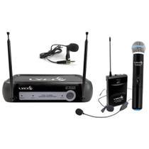 Microfone Sem Fio Lyco VH02MAX MHL Headset Lapela Bastão -