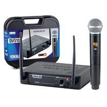 Microfone Sem Fio Profissional de Mão Vokal DVS100/HT16 -