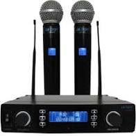 Microfone Sem Fio Profissional Duplo Digital Leson Ls X02 -