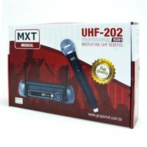 Microfone Sem Fio simples profissional Mxt Uhf 201 -