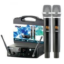 Microfone Sem fio Vokal VMS12 UHF -