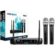 Microfone Sem Fio Vokal Vws20 Plus -