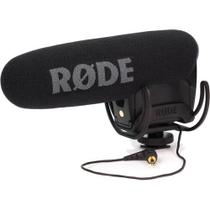 Microfone Shotgun Rode VideoMic Pro Compact com Montagem em Câmera -