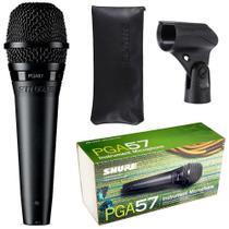 Microfone Shure PGA57-LC para Amplificador + Bag + Suporte - SHURE -