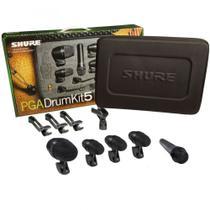 Microfone Shure PGADRUMKIT5 Original P/ Bateria -
