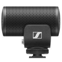 Microfone Supercardioide MKE200 Preto Sennheiser Profissional Ideal p/ Live e Câmeras -