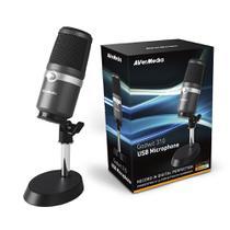 Microfone USB AVerMedia AM310 Cardióide Unidirecional -