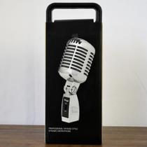 Microfone Vintage Stagg SDMP100 CR Cardióide Estilo Anos 50 - Stagg -