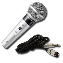 Microfone Vocal Instrumental Dinâmico Le Son Sm58 P4 Prata - Le Som