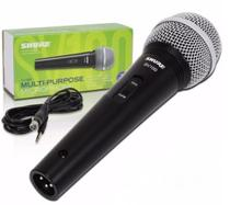 Microfone Vocal Profissional Com Fio Shure Sv100 -