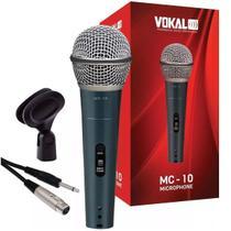 Microfone VOKAL Com Fio MC10 -