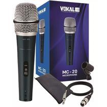 Microfone VOKAL Com Fio MC20 -