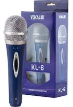Microfone vokal kl6 com fio -