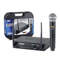 Microfone Vokal Sem Fio de Mão DVS-100SM C/ Nf + Garantia -