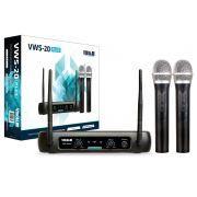 Microfone vws-20 plus vokal s/ fio -