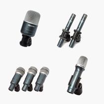 Microfones para Bateria Superlux Drk B5 C2 Mkll Giant 7 Unidades -
