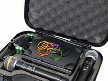 Microfones Sem Fio Lyco UH08-MM Duplo com Display Digital -