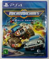 Micromachines: World Series - Code Master