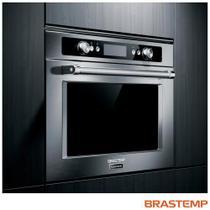 Microondas de Embutir Brastemp Gourmand com 40 Litros de Capacidade Inox - BMO45AR -