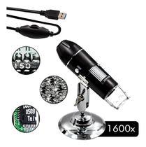Microscópio Digital USB 1600x Zoom HD - Haiz