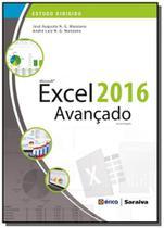 Microsoft excel 2016 avancado - colecao estudo dir - Editora erica ltda