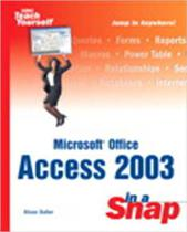 Microsoft office access 2003 in a snap - Kobo Editions