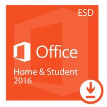 Microsoft Office Home Student 2016 ESD 32/64 BITS- Digital Download