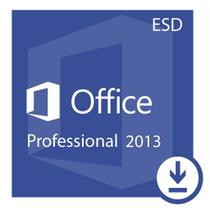 Microsoft Office Professional Plus 2013 ESD- Digital Download