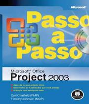 Microsoft Office Project 2003 - Passo A Passo - Bookman (grupo a)