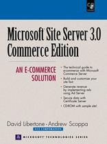 Microsoft site server 3.0 commerce edition - an e-commer an e- commerce solution - Phe - pearson higher education