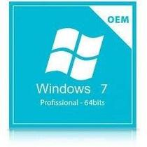 Microsoft Windows 7 Professional 32/64 Bits  FQC-08286 OEM - Digital para Download