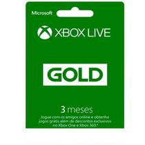 Microsoft XBOX Live - 3 MONTH GOLD CARD