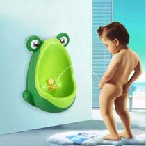 Mictório Infantil Menino Bebê Sapinho Verde De Desfralde - Pinico De Desfralde  Portátil -