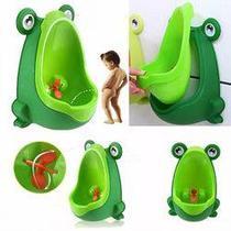 Mictório Infantil Sapinho Pinico Troninho Bebê Xixi Menino - Dm Toys