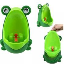 Mictório Infantil Sapinho Pinico Troninho Bebê Xixi Menino Verde - Magazine Rm