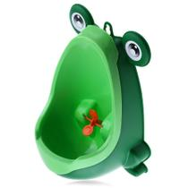 Mictório Infantil Sapinho Pinico Troninho Bebê Xixi Menino verde - Micbaby