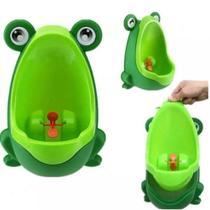 Mictório Pinico Portátil Infantil Sapinho Bebê Troninho - Urinal Frog