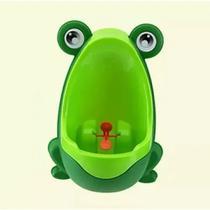 Mictório Pinico Portátil Infantil Sapinho Verde Bebê - Clingo