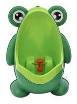Mictório Pinico Portátil Infantil Sapinho verde - salamar