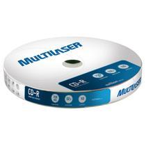 Midia CD-R Multilaser CD027 700 MB 52X Shirink com 10 Unidades - GNA